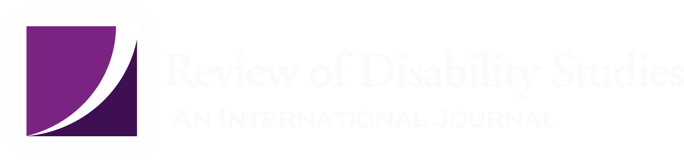Review of Disabilty Studies Logo